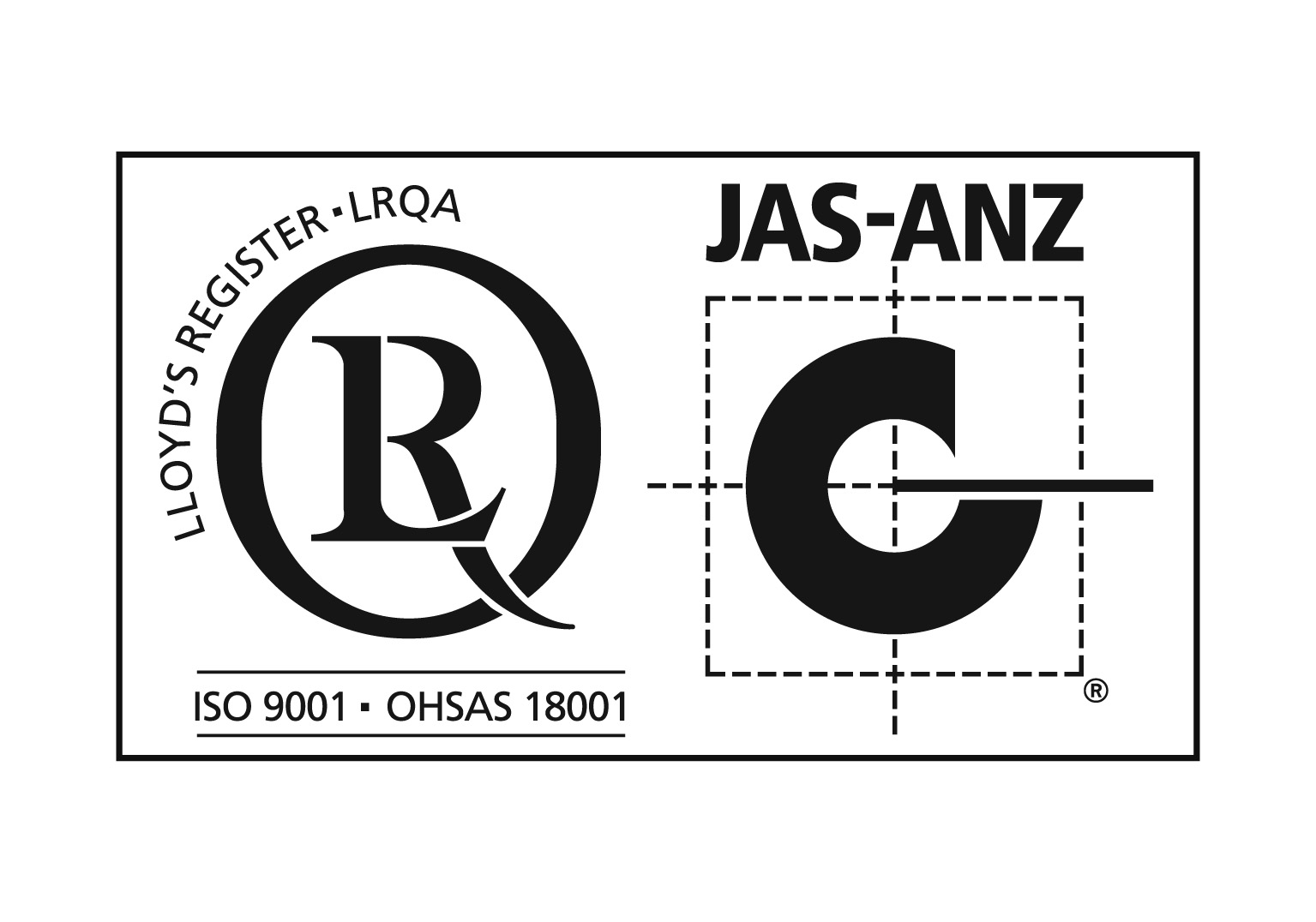 ISO9001OHSAS 18001 with JAS ANZ